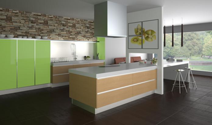 Diseño de cocina Amperiza