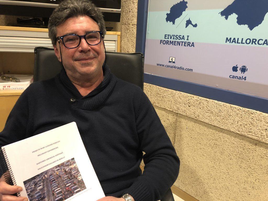 Tomeu Amengual en canal4 radio en el programa Ibmagazine de Carlos durán