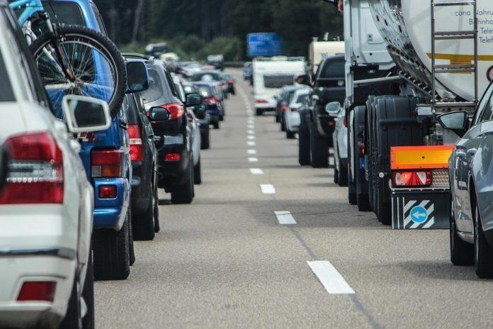 embotellamiento coches Mallorca