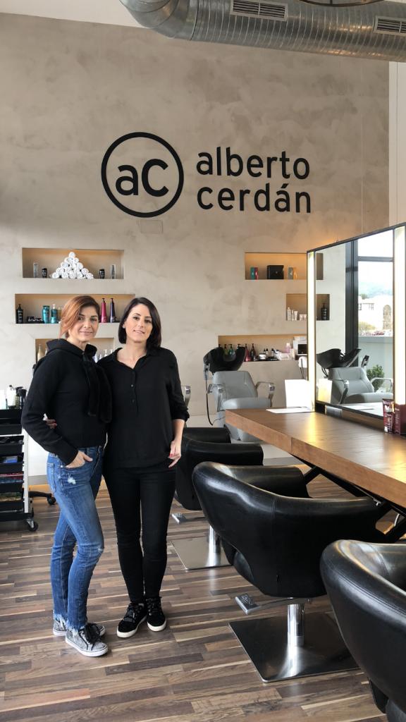 Fabiana y Eva Alberto Cerdán