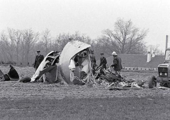 accidente avión Nantes