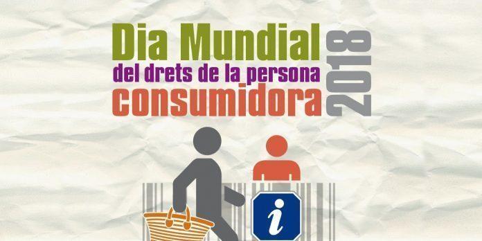 Cartel dia mundial dels drets de la persona consumidora