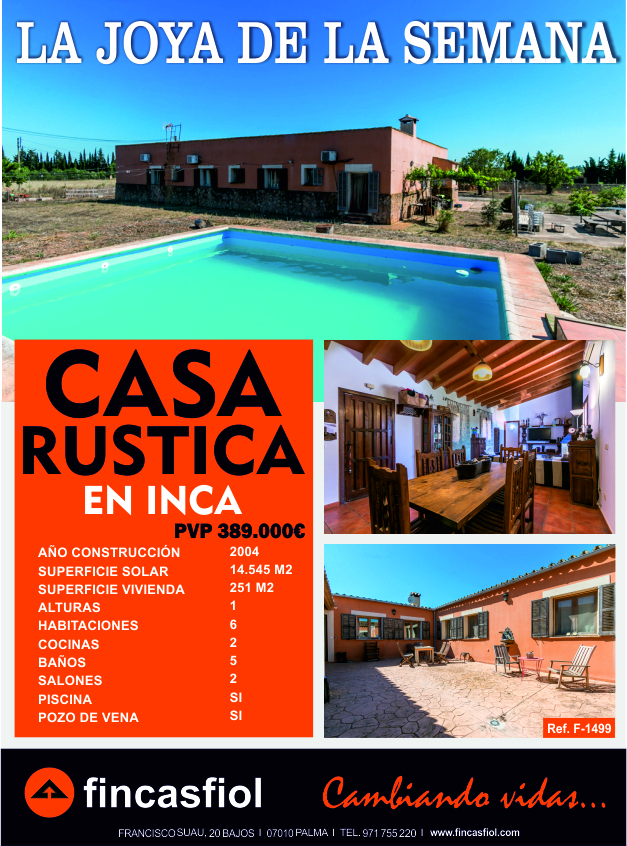 rustica en Inca