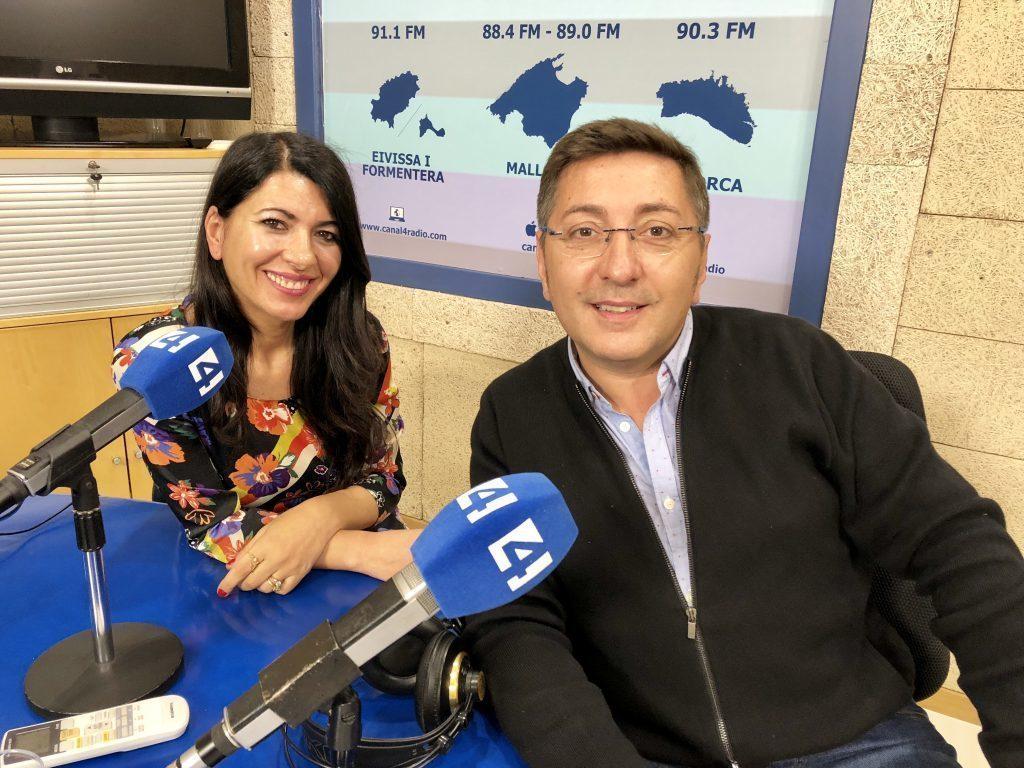 Carme Coll y Carlos Durán