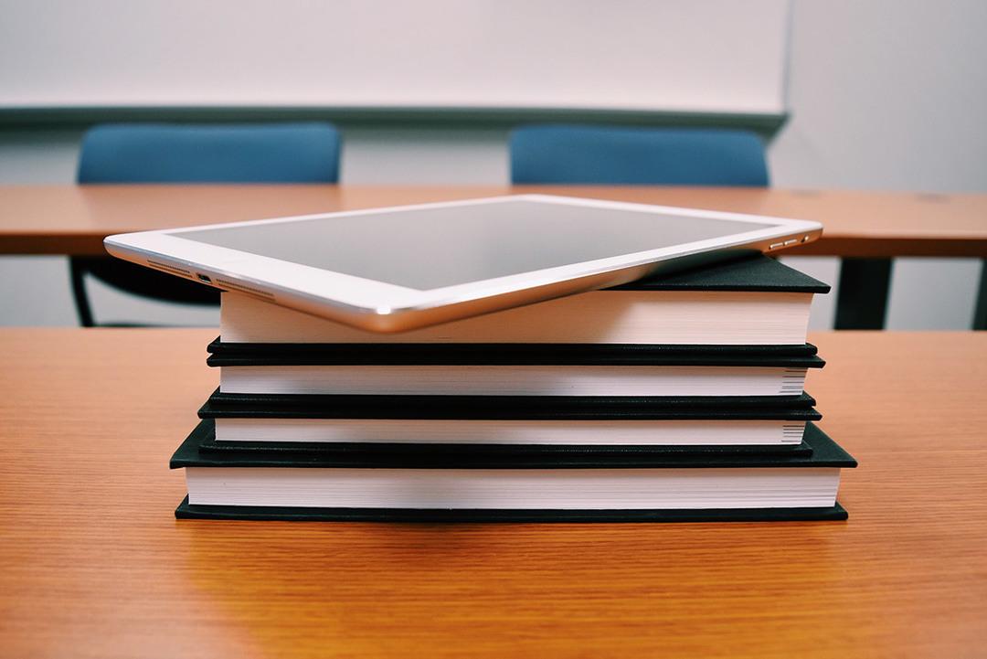 iPad libros escuela