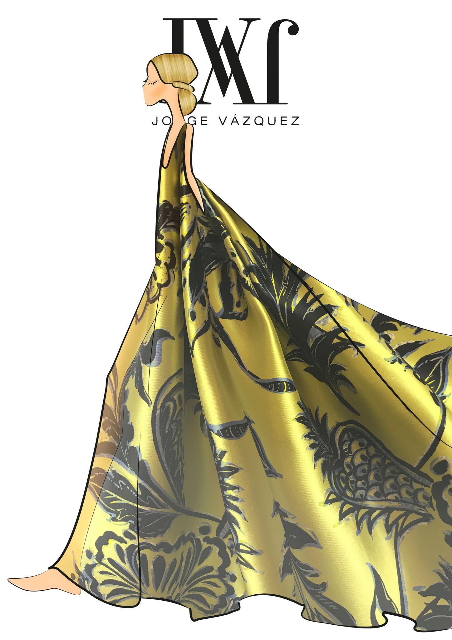 Boceto Jorge Vázquez