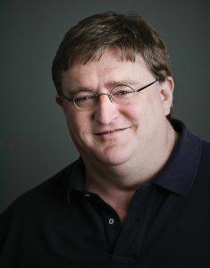 Gabe Newell, CEO de VALVE