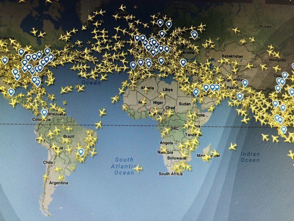 Cuántos Aviones Vuelan A La Vez En El Mundo Ib Magazine By Carlos Durán