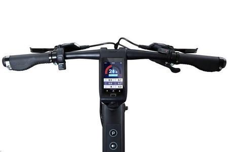 e-bike Cybic E-Legend display